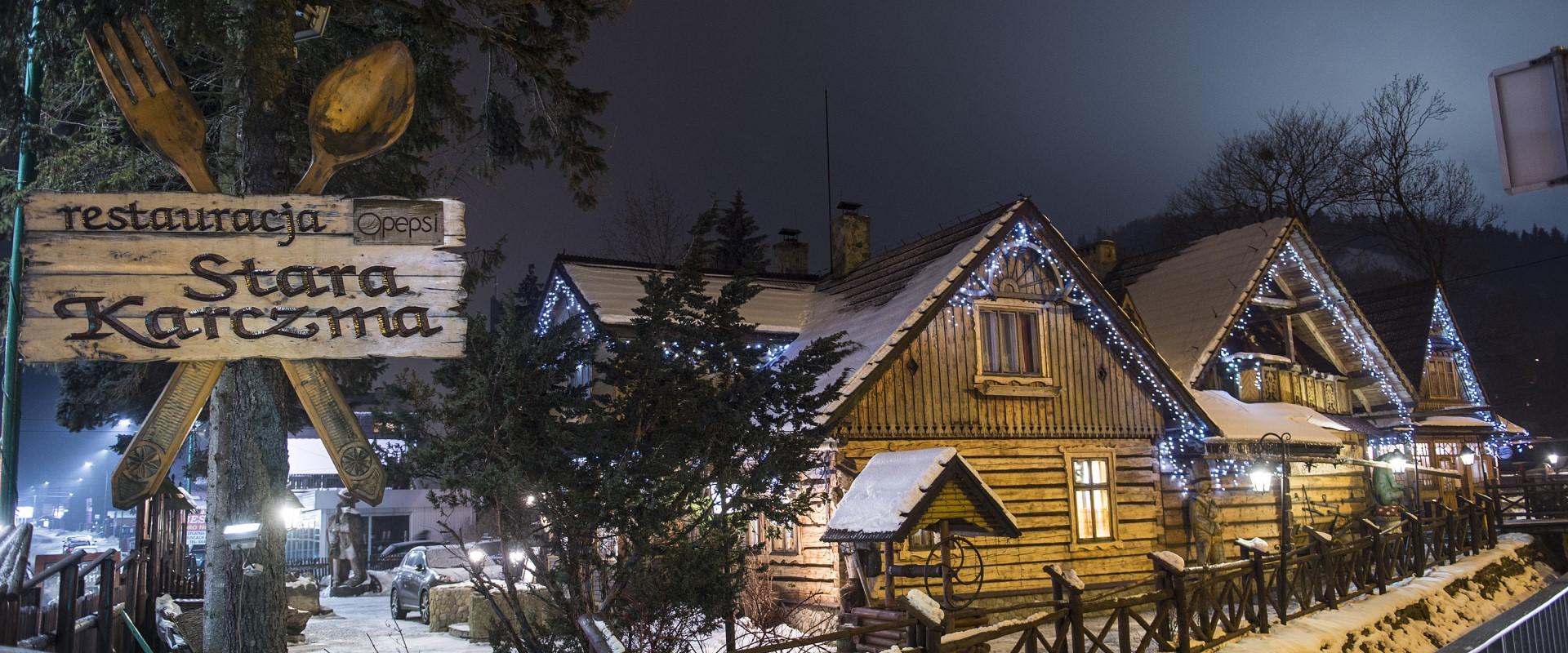 Stara Karcza w Szczyrku w czasach COVID-19